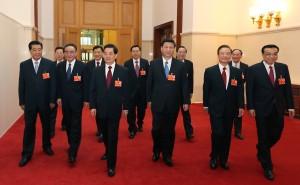 中国最高指導部のフサフサ黒々ヘア